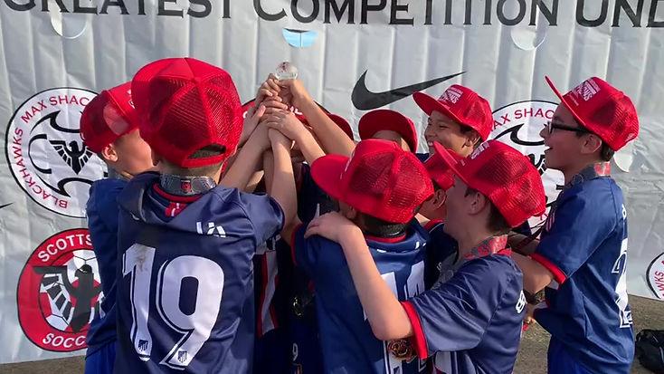 Atlético 2008 Academy Red Boys