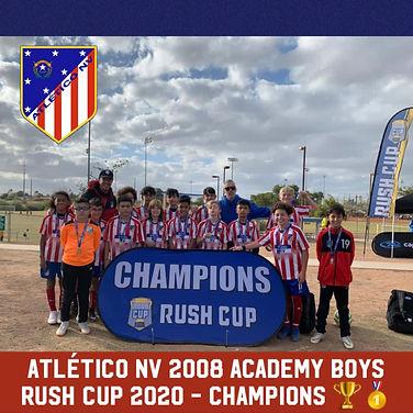 2008 Academy Rush Cup 2020 Champioins.jp