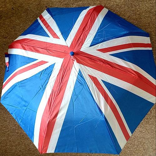 Union Jack Folding Umbrella