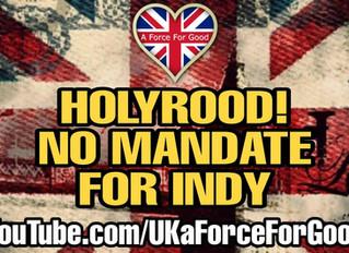 Holyrood Cannot Deliver a Mandate for a 2nd IndyRef