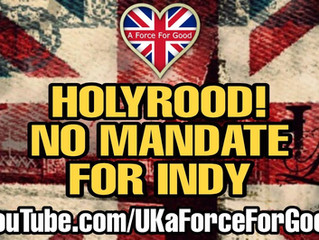 Holyrood Cannot Deliver a Mandate for a 2nd IndyRef