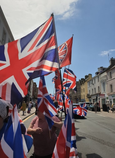 Ayr is Red, White & Blue!