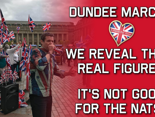 AFFG Reveals Number at Dundee March: 3,538