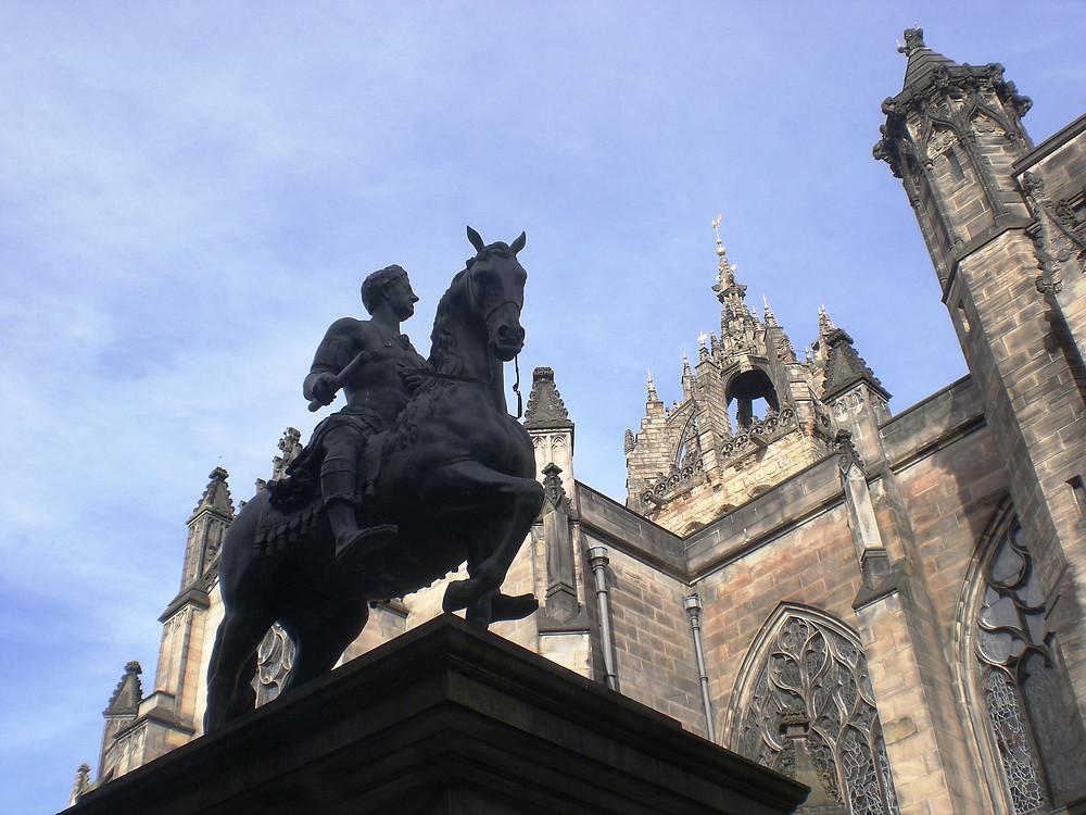 Charles II, Parliament Square, Edinburgh. Pic: AFFG 6-10-18