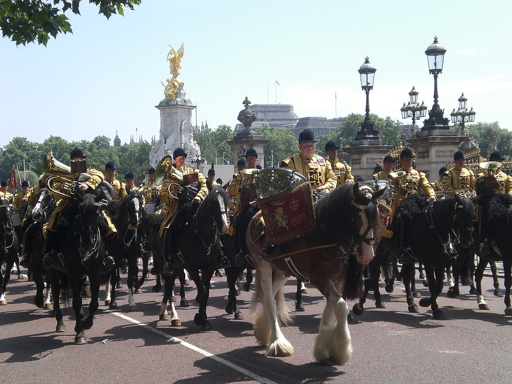 Trooping the Colour, Saturday 9 June 2018. Pic copyright AFFG