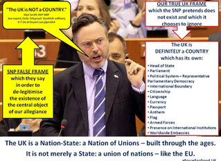 The UK is a Nation of Unions (not a union of nations)