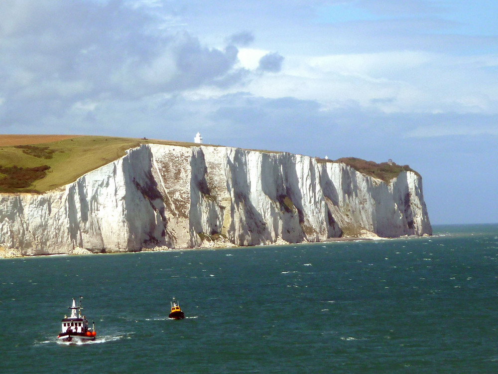 White Cliffs of Dover. Pic Wikipedia.