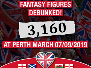 3,160 at Perth AUOB March, 7-9-19