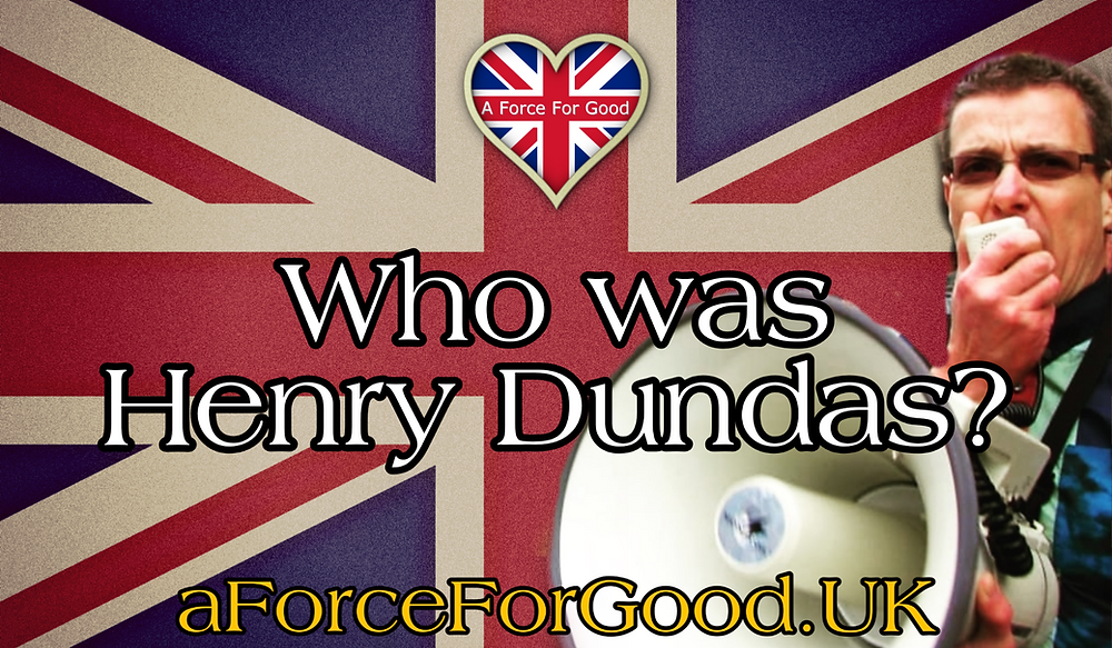 Who Was Henry Dundas graphic. Our 2nd Speech of the Day