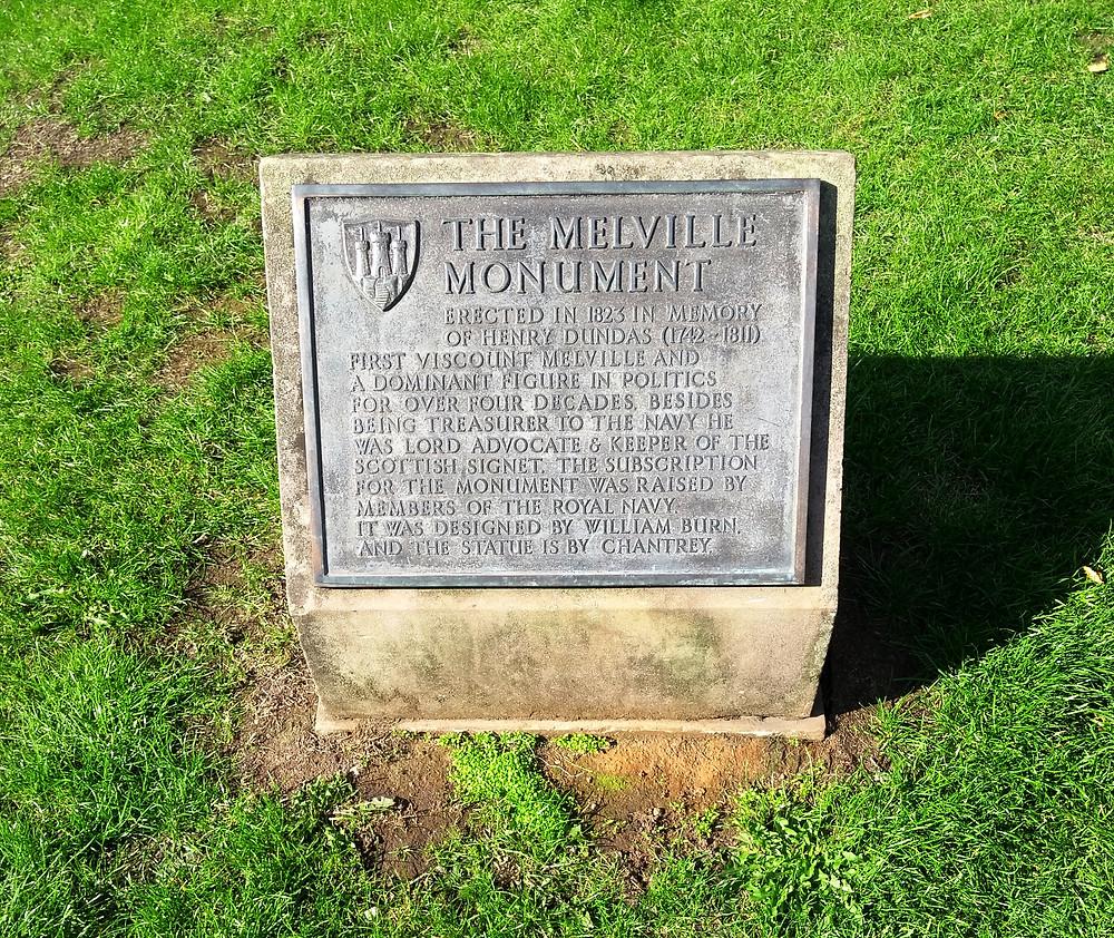 Stone plaque at Dundas Monument. AFFG 25-8-18.