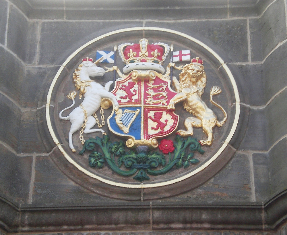 James VI's Coat of Arms. Pic: AFFG 6-10-18