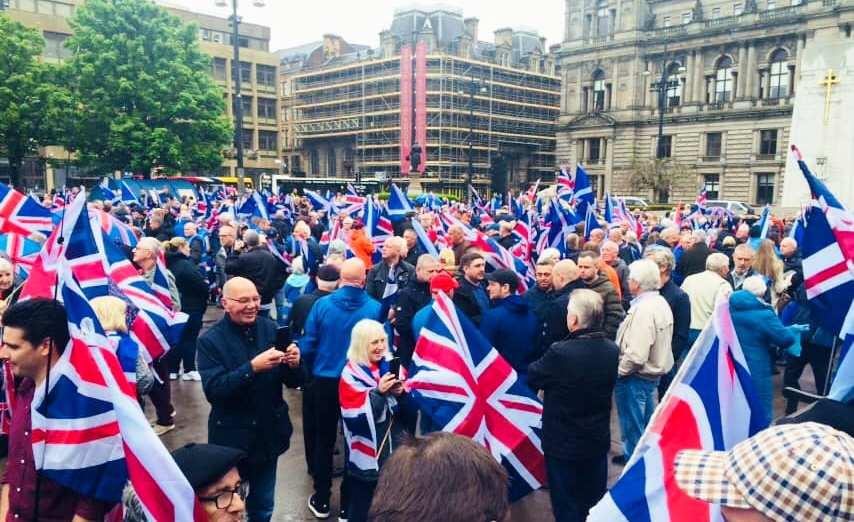 Maintain the Union March, George Square, 18-5-19