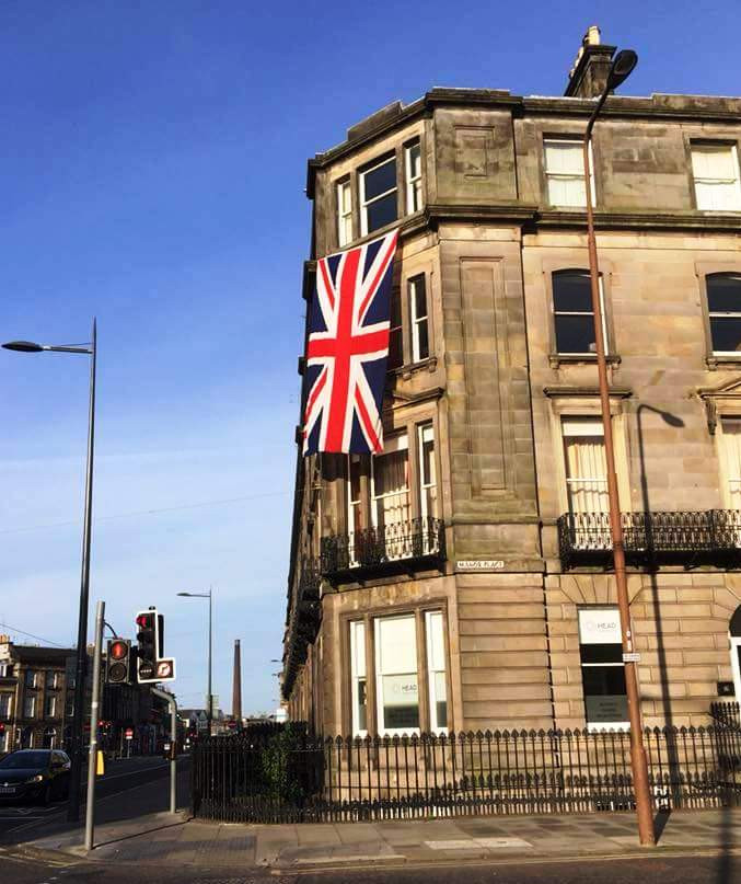 Union Jack in Edinburgh 18-5-18