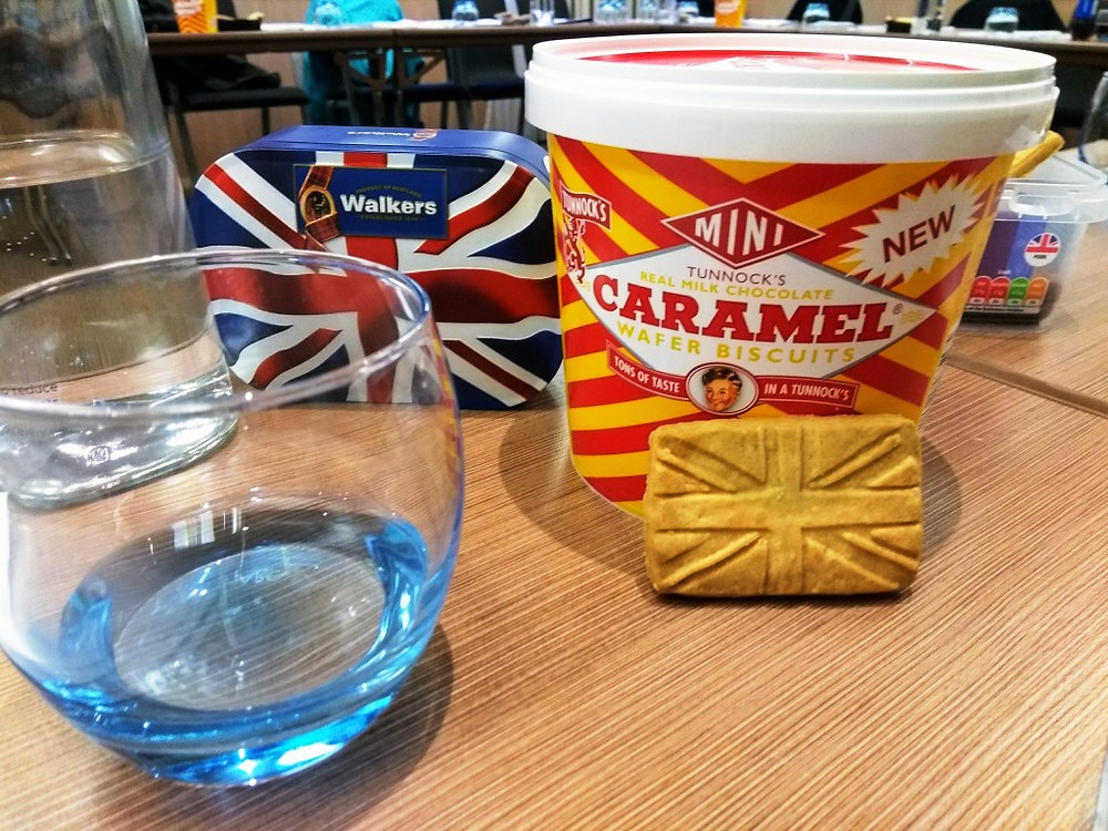 Union Jack Shortbread and Tunnocks Chocolates were the order of the day at our 2nd AGM
