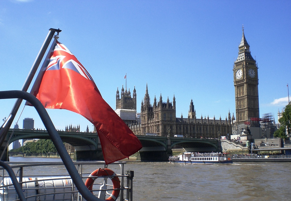 Westminster from a Thames Clipper. Copyright AFFG