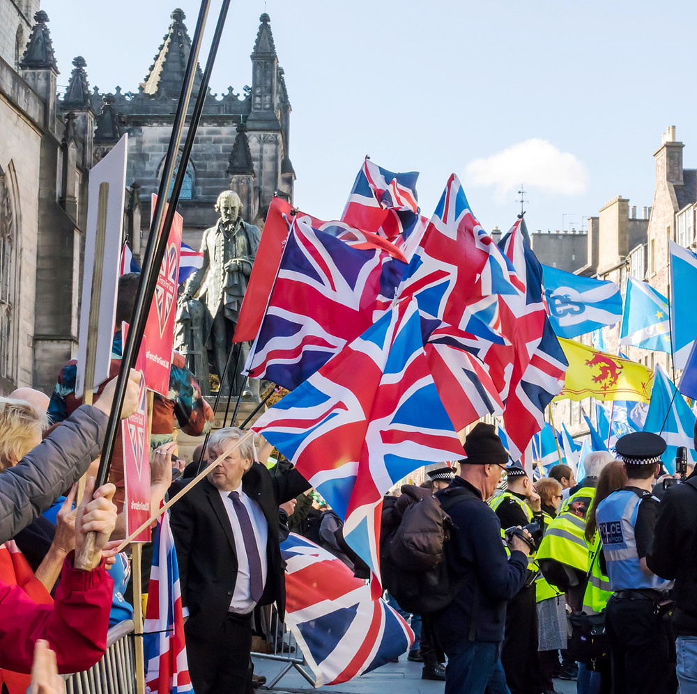 AFFG stand for the Union as the SNP/ScotNats pass, Edinburgh 6-10-18