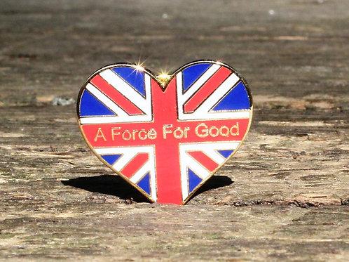 New Union Heart Badge