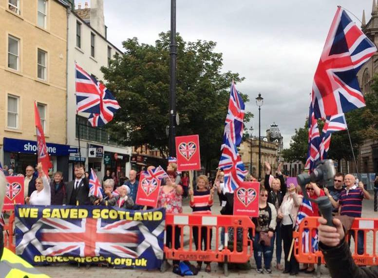 AFFG Activists in Dundee 18-8-18