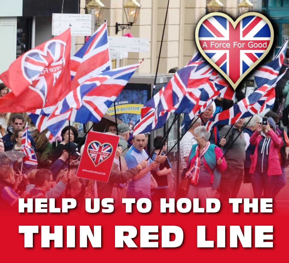 AFFG Inverness 28-7-18. Help us hold the Thin Red Line