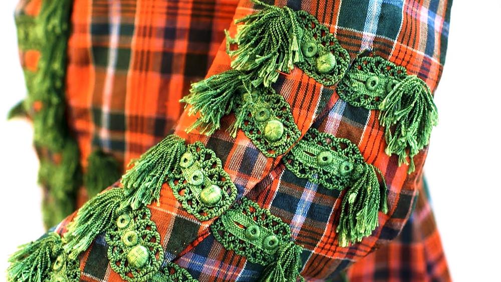 Sir John Hynde Cotton tartan suit, from National Museums Scotland