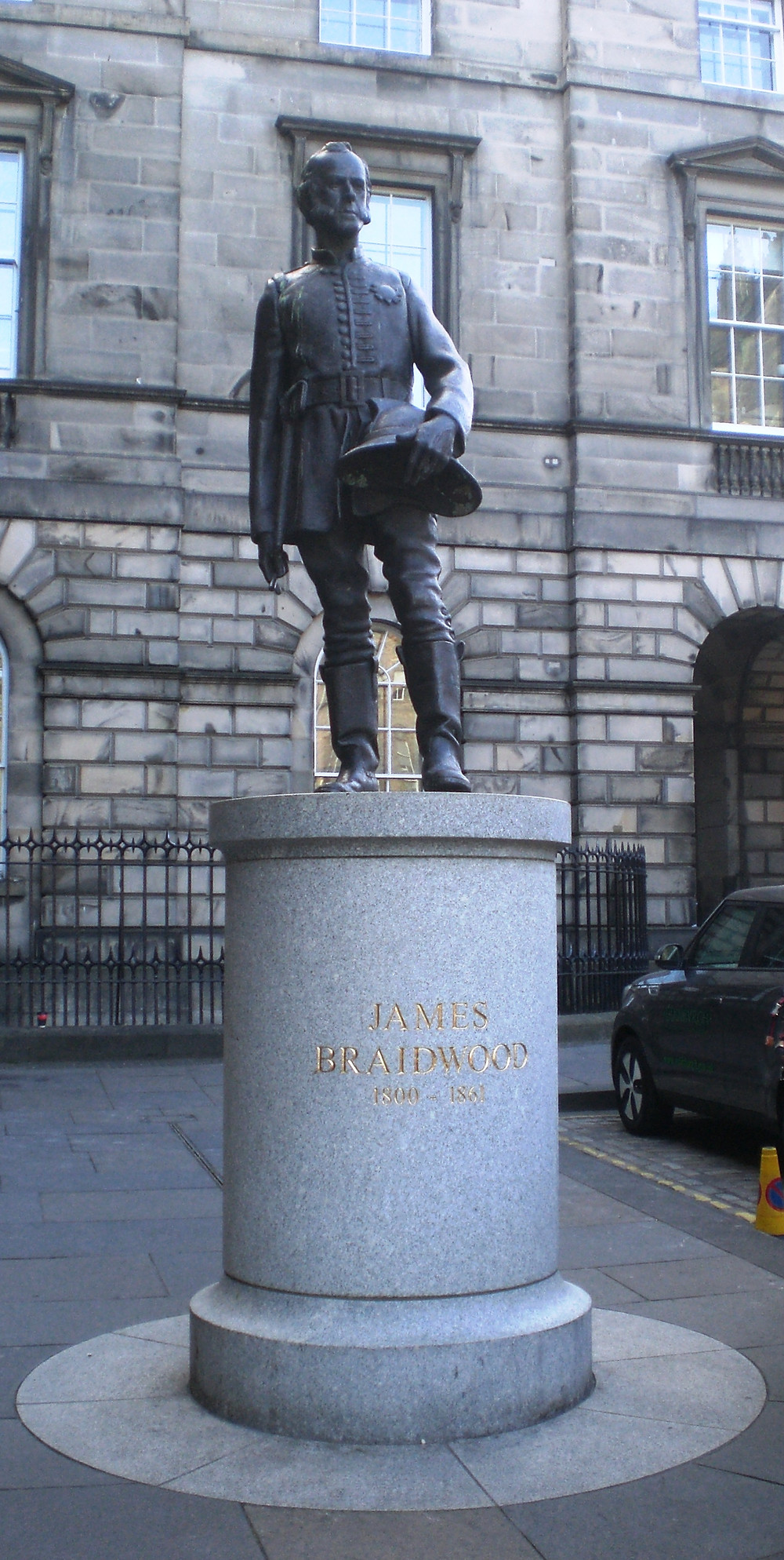 James Braidwood, Father of the British Fire Service. Pic: AFFG 6-10-18