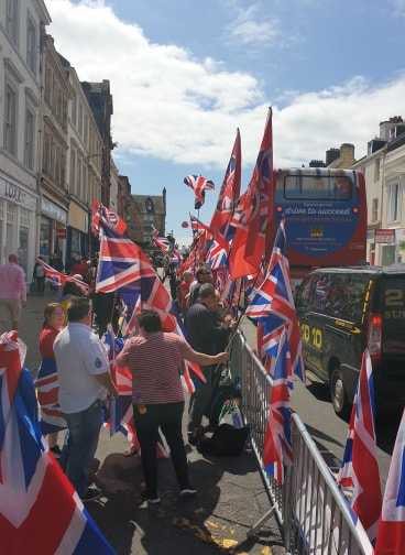 Ayr is a Unionist town!