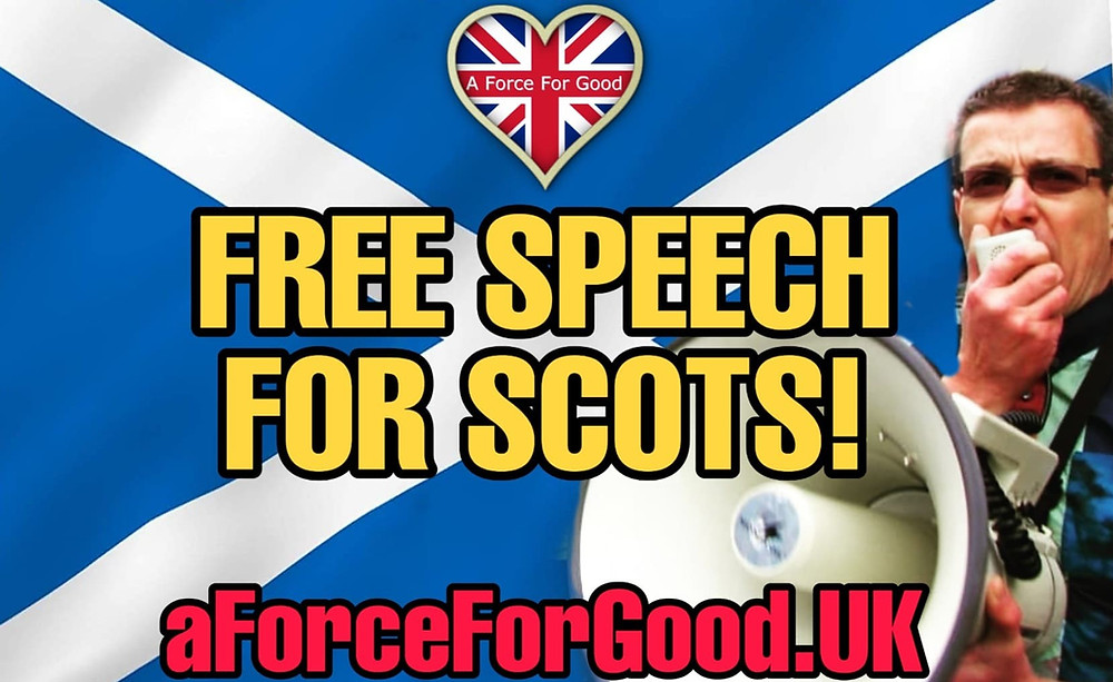 Free Speech for Scots. Our Submission to the Justice Committee 24-7-20