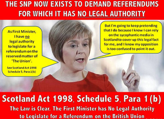 6 Reasons why Westminster has a Right to Block a 2nd Separation Ref
