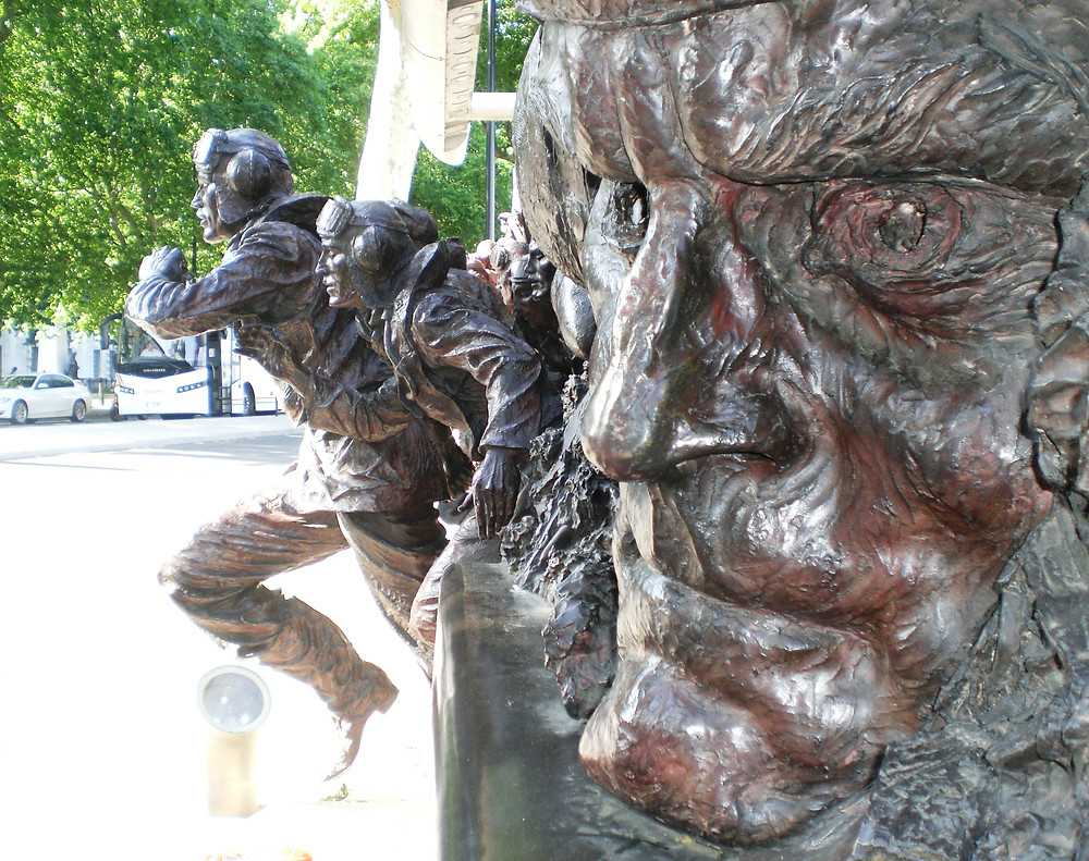 The Battle of Britain Memorial, Embankment. Pic copyright AFFG 6-6-18