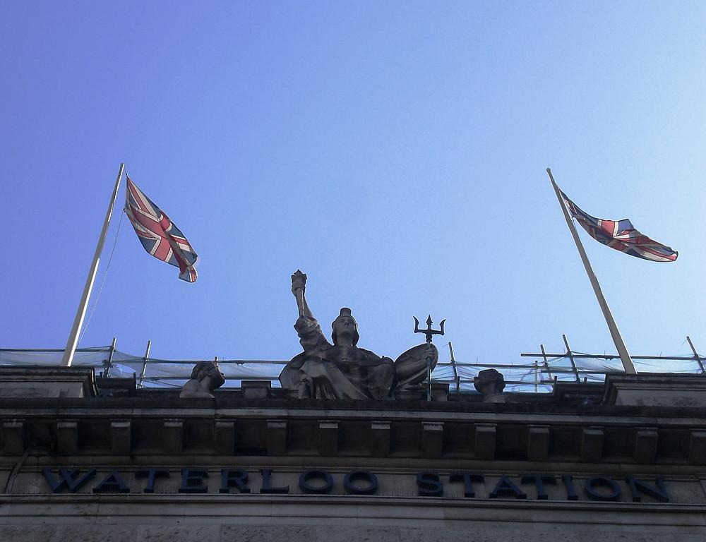 Waterloo Station. Pic copyright AFFG 6-618