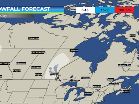 Alberta Clipper Will Bring Stormy Conditions to Manitoba on Thursday. Details here: #MBStorm