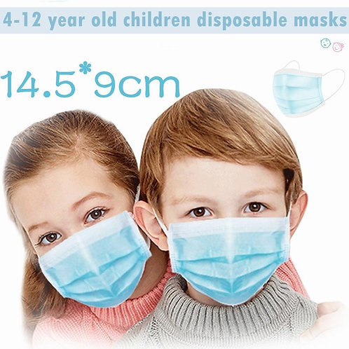 3-Ply Disposable Face Mask FDA Approved for Kids