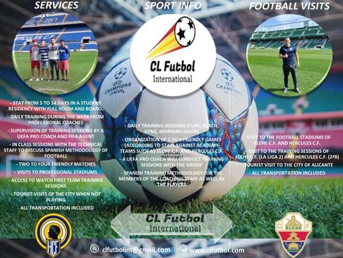 NEW CL Futbol International Team Option