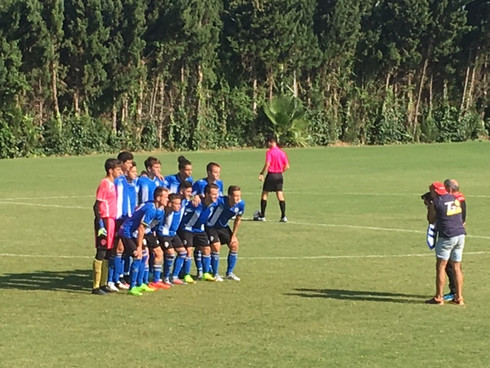 CL Futbol Players Play U17 Honduras National Team