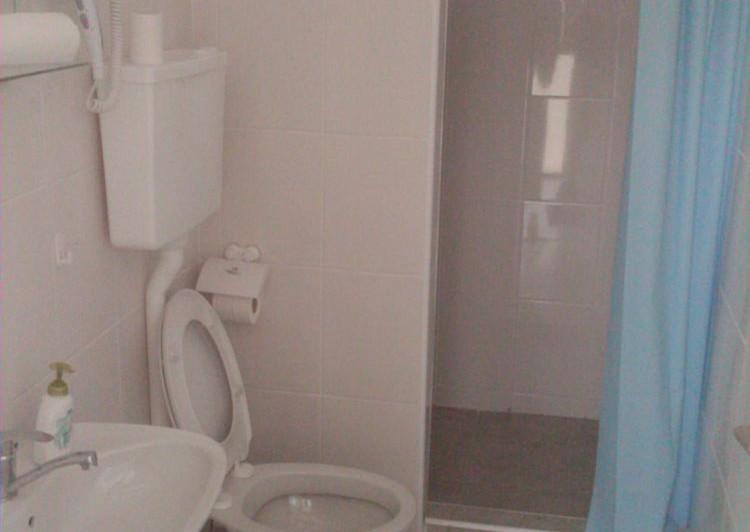 Hostel AV Palanka - Toalet with shower