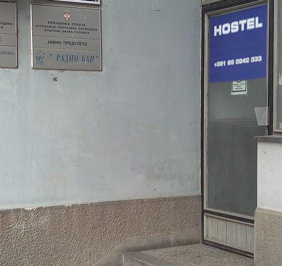Hostel AV Palanka - Ulaz