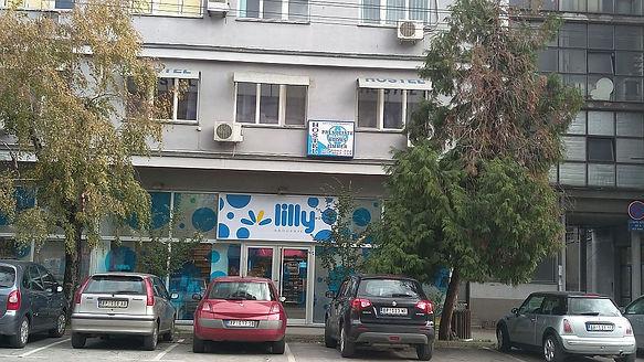 Slika Hostela Palanka sa ulice