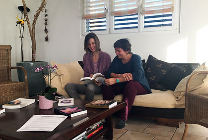 Karin et Margot, stages Centre Unisson