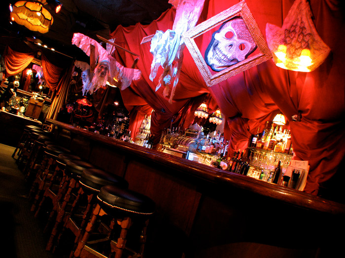 Halloween at The Fat Lady