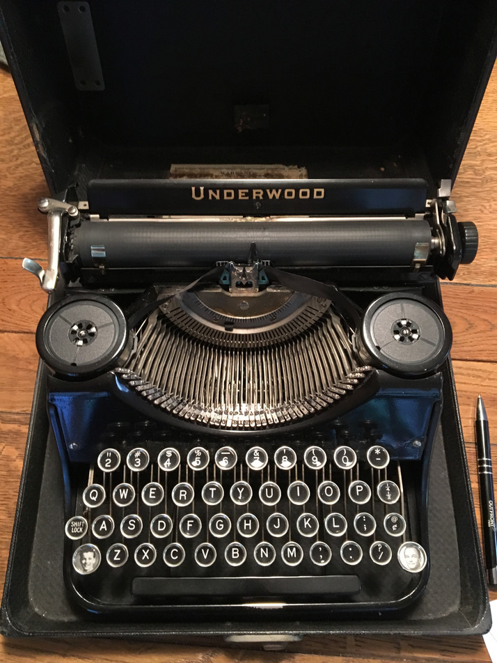From One Typewriter To Another