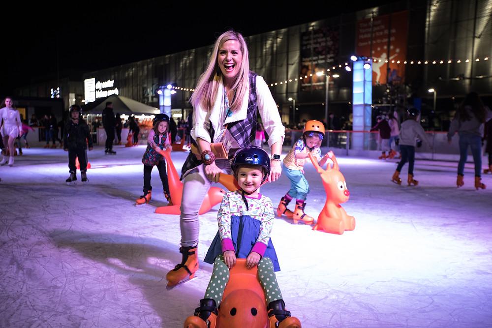 Kristi Yamaguchi Holiday Ice Skating Rink