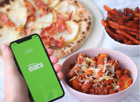 Don't Miss a Second of Your Favourite TV Series. Order in with Uber Eats