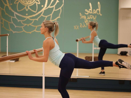 Booty-licious Workout at Dance Barre by Katie Dickens