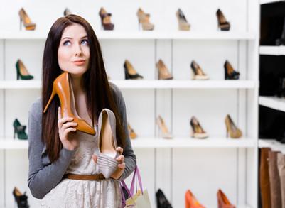 Sapatos vs Coluna