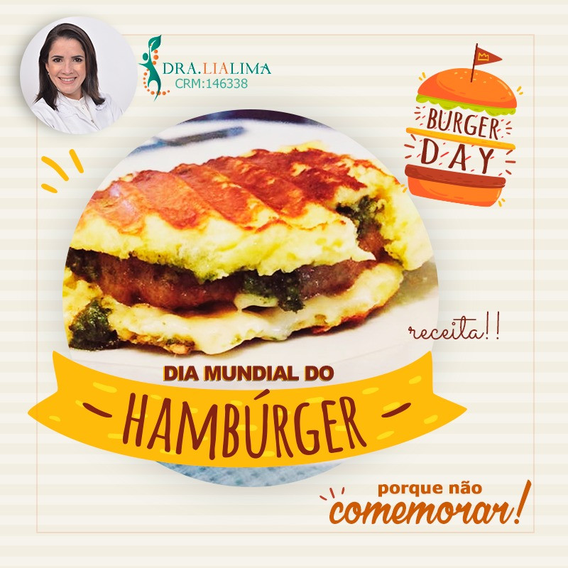 Hamburguer Low Carb sem Gluten