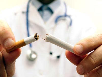 Cigarro, o vilão da coluna