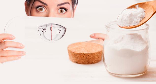 Beneficios del bicarbonato de sodio para perder peso