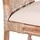 Thumbnail: Silla de ratán lavado/cojín tapizado 46 x 55 x 90 cm