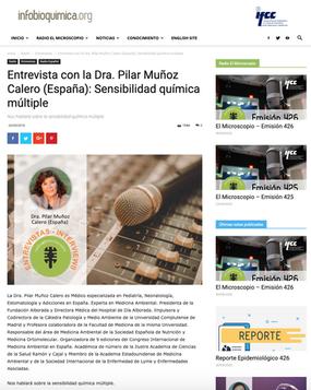 Infobioquímica. Sep. 2018