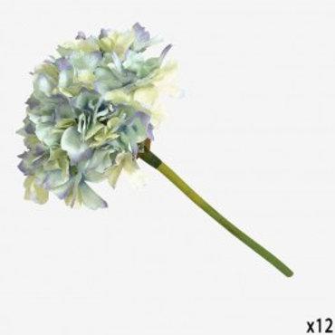 Flor Hortensia azul 36 cm